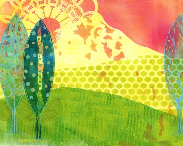 Sunrise over the Mountain (SOLD)