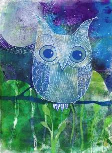 Errol the Owl SOLD
