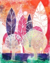 The Orange Forest (SOLD)
