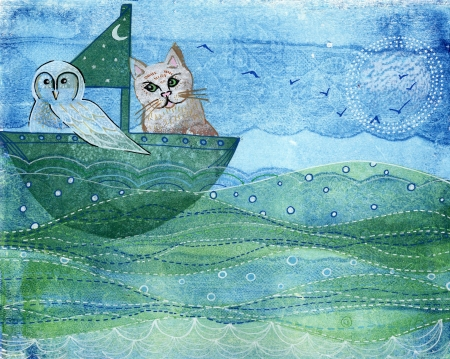 The Owl and the Pussycat (SOLD)