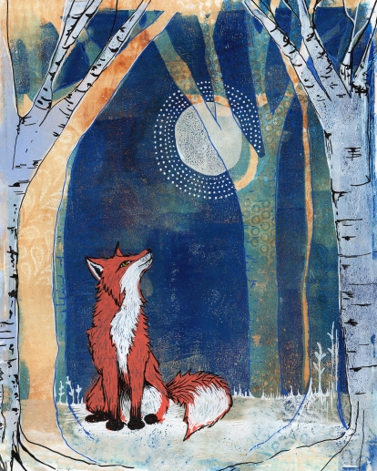 The Fox and the Moon SOLD