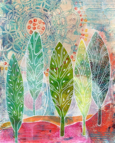 The Forest in the Sun SOLD