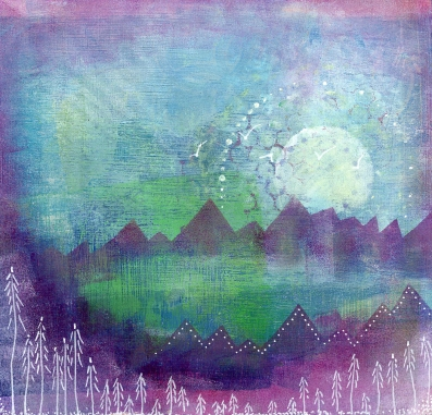 Misty Mountains #1 (SOLD)