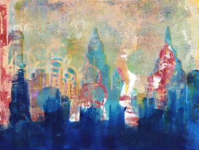 New York Skyline SOLD