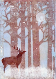 The Stag in the Forest