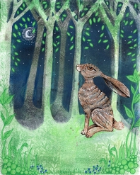 The Hare and the Moon SOLD