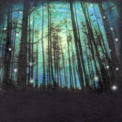 Through the Dark Wood (SOLD)
