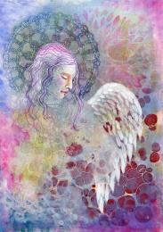 angel descending small